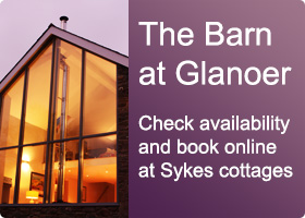 Book the barn at Glanoer